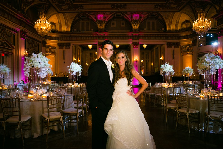 Alexandra & Jared's Wedding at The Fairmont Copley Plaza