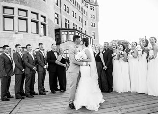 A Fairmont Wedding at Fairmont Le Château Frontenac