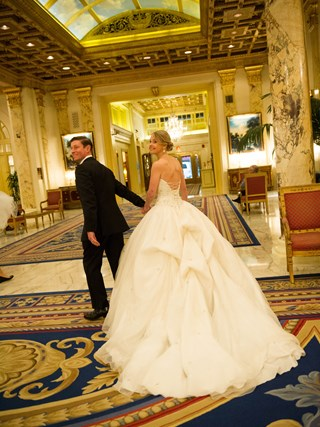 A Fairmont Wedding at The Fairmont Copley Plaza