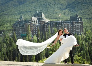 A Fairmont Wedding at The Fairmont Banff Springs
