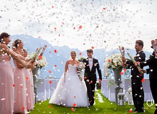 France & Yann's Fairmont Le Montreux Palace Wedding