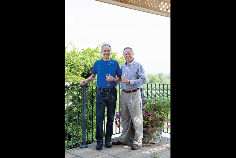 Brothers Jim and John Young at Angels Gate