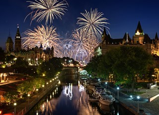 Celebration Central: Canada's 150th Birthday Bash in Ottawa