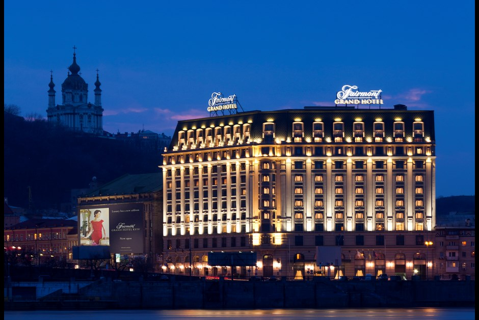 Fairmont Grand Hotel Kyiv Spa