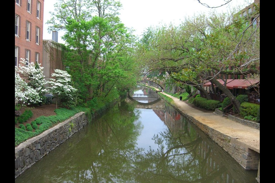CO Canal Georgetown Washington DC by Samir Luther