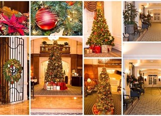 Christmas 2013 & The Fairmont Hotel Macdonald