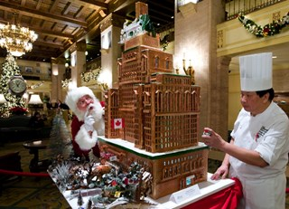 Royal York Christmas Gingerbread House