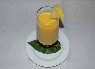 LifeStyle Cuisine - Vegan Mango Soy Milk Smoothie