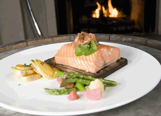 Vincent Stufano's Cedar Roast Salmon