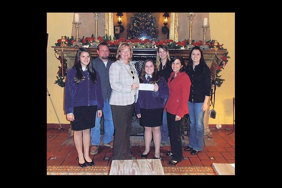Fairmont gives $5,000 to Sonoma Valley High School Agricultural Department