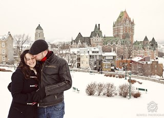 Christmas in Quebec City (photo shoot)