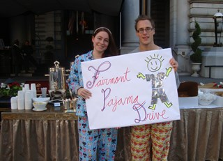 OPERATION PJ Fairmont Hotels & Resorts of the US West Create Sweet Dreams