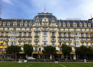 Luxury Hotel in Montreux, Switzerland