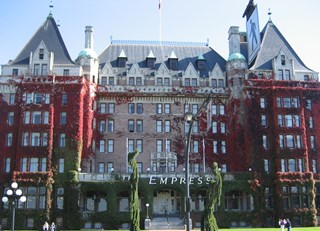 Fairmont Empress...colors!