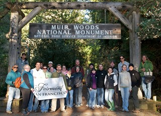 Fairmont of Northern California Cleans Up