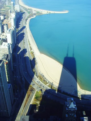 The Shadow of the Hancock Tower