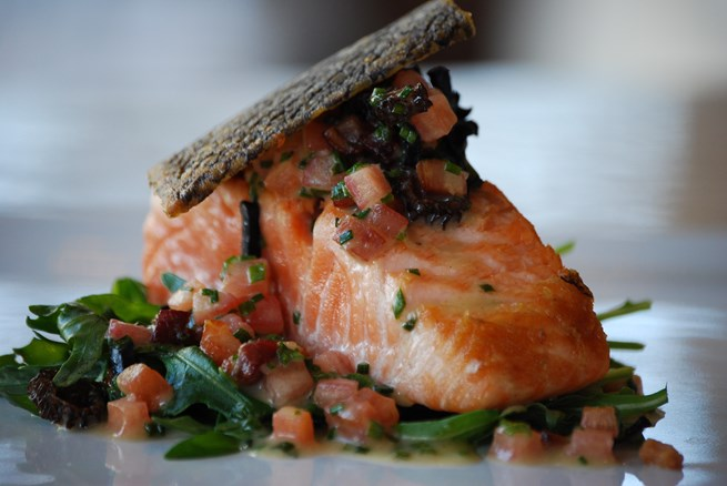 Honey Cured BBQ Salmon