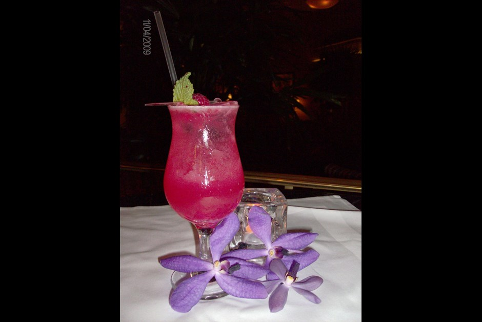 The final rose drink recipe fairmont moments