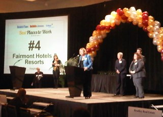 Fairmont Hotels of Northern California Rank Amongst Top Places to Work