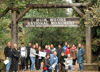 FAIRMONT OF NORTHERN CALIFORNIA SUPPORTS MUIR WOODS NATIONAL PARK CLEAN UP