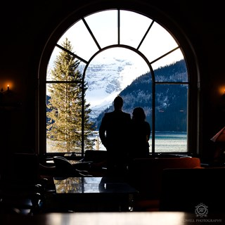 Couples Photo shoot at Lake Louise