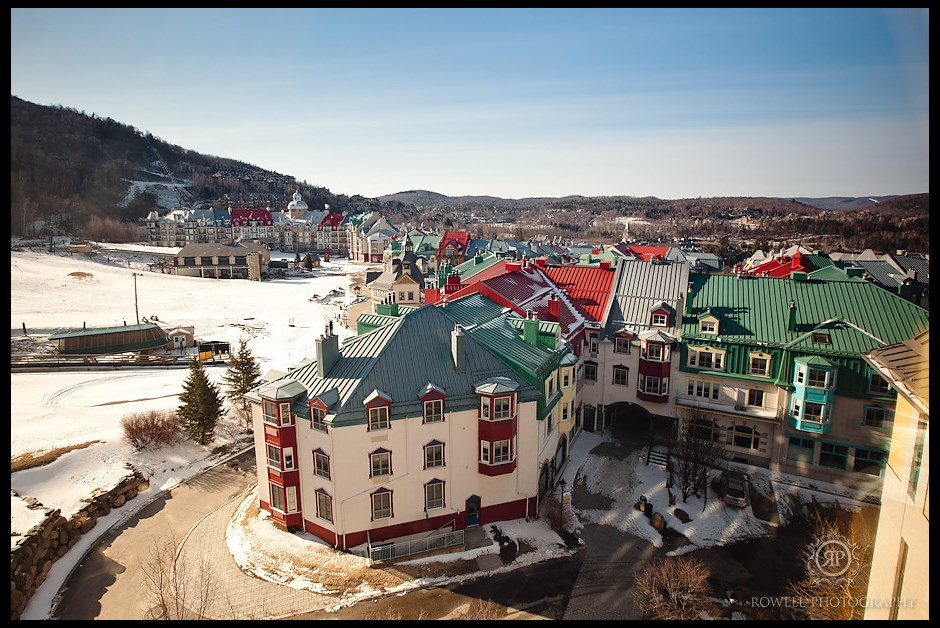 Our view from Fairmont Mont Tremblant