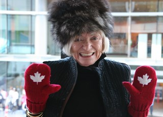 Red Mittens and Margrit Mondavi