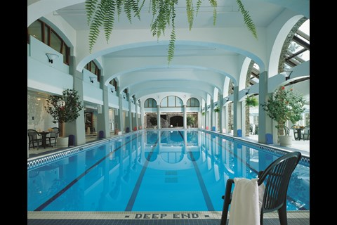 Banff Springs Hotel Pool