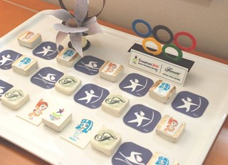 Unique Amenities Celebrating the 2010 Youth Olympic Games (YOG) at Fairmont Singapre