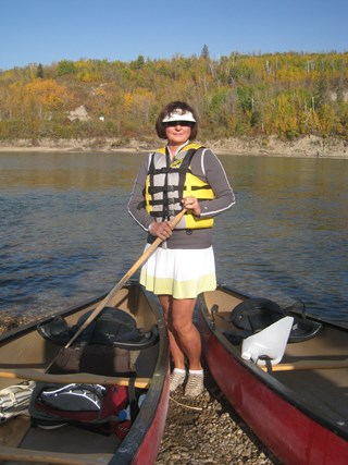 Canoeing the North Saskatchewan