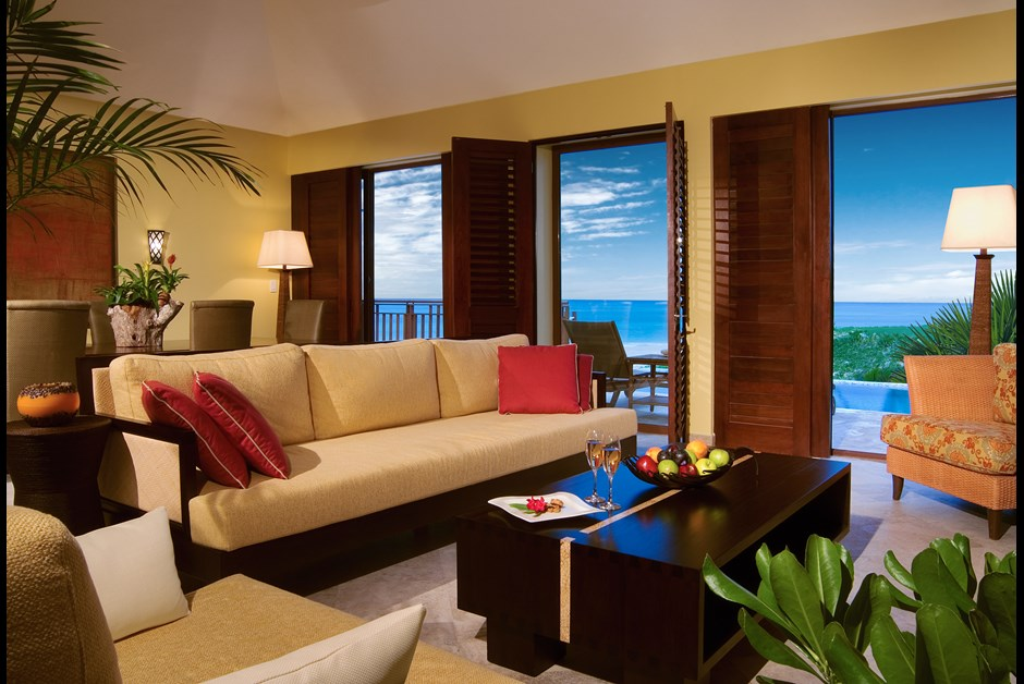 Presidential Suite at Mexico's Fairmont Mayakoba