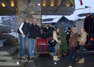 Christmas at Fairmont Chateau Whistler
