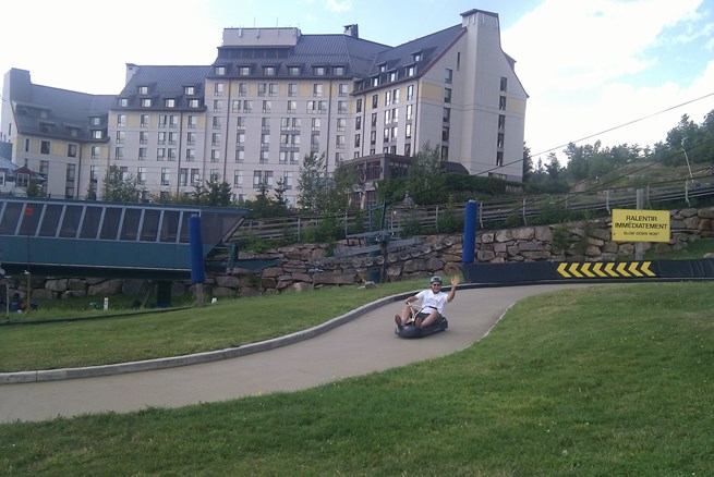 luge racing for older kid