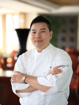 Jack Li, Chinese Master Chef at Fairmont Yangcheng Lake