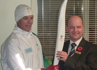 Olympic Torch has arrived!