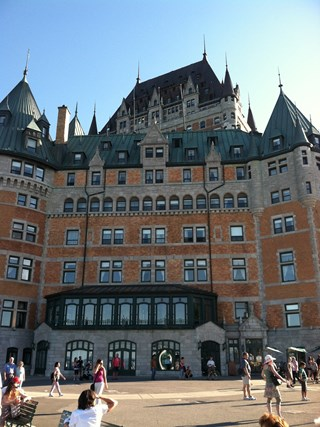 My journey into Quebec City -