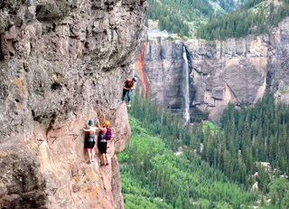 Fairmont Colleagues Traverse Telluride's Via Ferrata