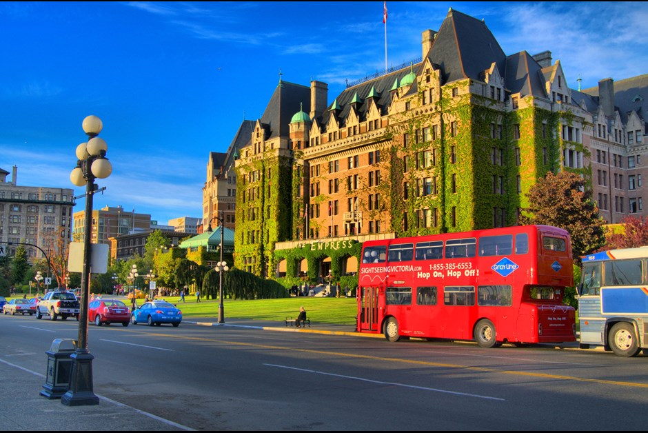 A trip to Victoria, and a stay at the Fairmont Empress hotel