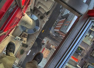 The view from the Calgary Tower....simply amazing!