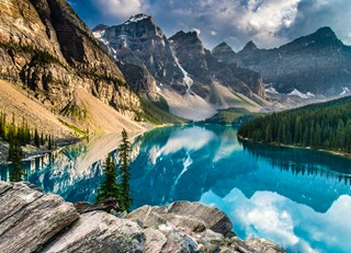 An Evening at Moraine Lake