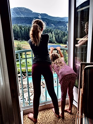 Summer Long Weekend at Chateau Whistler