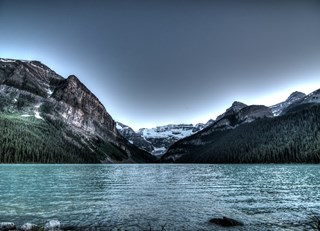 Serene Lake Louise at the Chateau
