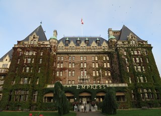 The amazing beautiful Fairmont Empress in Victoria, BC