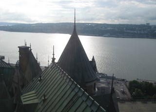 Early Morning from the Chateau Frontenac