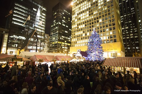 Chicago Christmas.A 100 Year Tradition City Of Chicago Christmas Tree