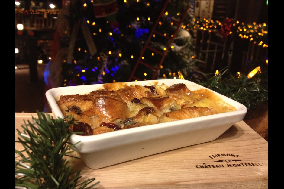 Eggnog Bread Pudding