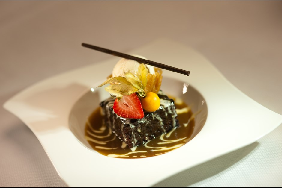 Sticky Toffee Pudding from The Waterlot Inn