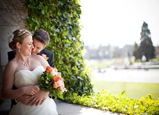 Garden Wedding at the Fairmont Empress