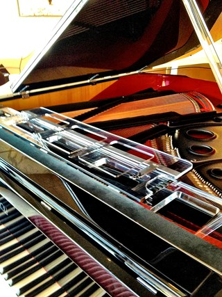 Fazioli, arguably the finest piano in the world
