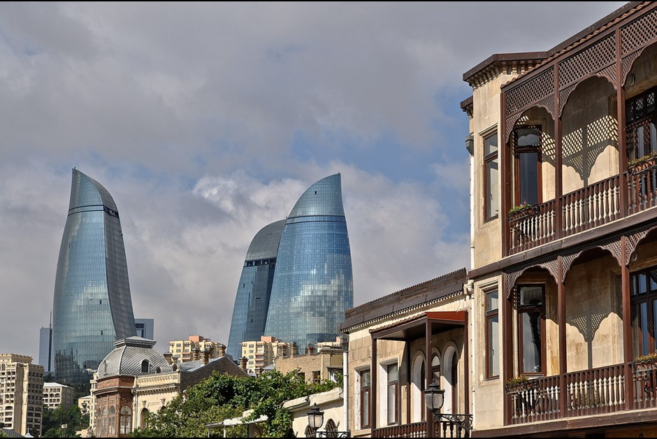 Keeping Fairmont Baku, Flame Towers gleaming brightly